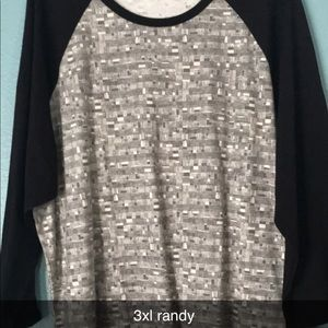 Lularoe 3xl randy tops